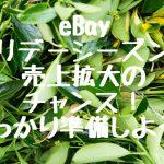 eBay ホリデーシーズンは売上拡大のチャンス!しっかり準備しよう!
