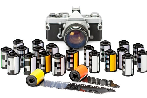 Photo film cartridges