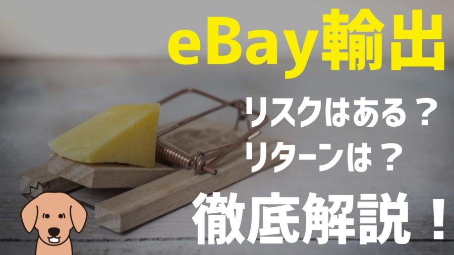 eBay輸出はリスクあり?危険?海外販売のリスクとリターンを徹底解説!